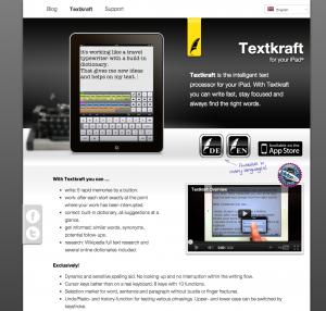 Website für Infovole – den Machern von Textkraft