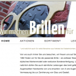 Screenshot brillen-fuer-brueggen.de